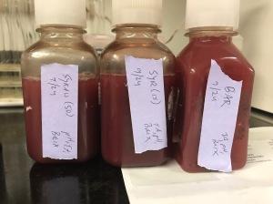 juice samples